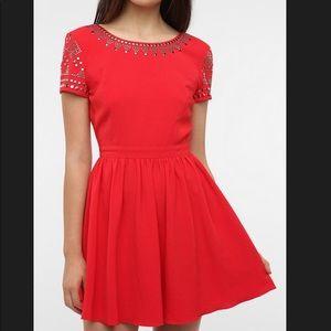Staring at Stars red dress